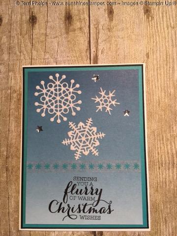 Christmas Flurry Card
